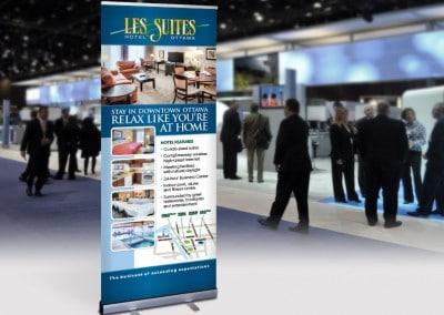 Les Suites Tradeshow Display