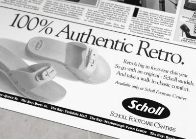 Scholl Ad Series