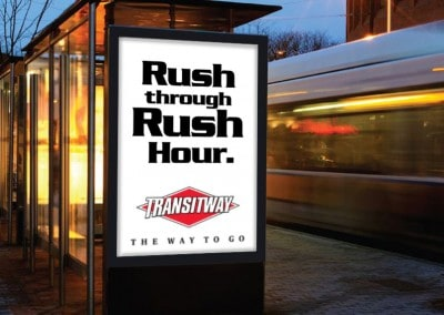 Transitway Campaign Shelters